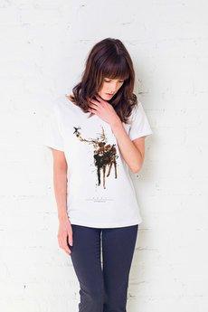 GAU great as You - DEER PAINTED Oversize t-shirt