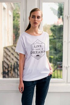 GAU great as You - LIVE YOUR DREAMS Oversize t-shirt