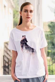 GAU great as You - WOLF t-shirt oversize