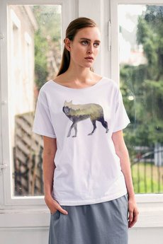 GAU great as You - WOOD WOLF t-shirt oversize