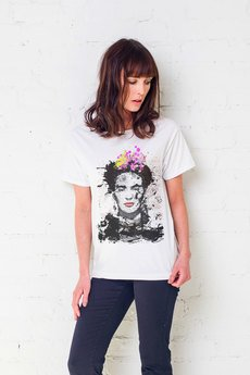 GAU great as You - FRIDA PAINTED t-shirt oversize