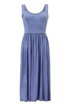 RISK made in warsaw - sukienka RZYMSKIE WAKACJE lavender blue