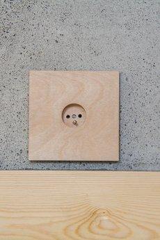 Sqrdot Design - Gniazdo pojedyncze 14' sklejka