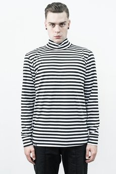 The Hive - STRIPES TURTLENECK