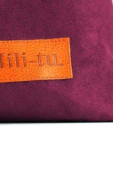 Militu - Torba worek Mili Chic Mc7 burgund fiolet