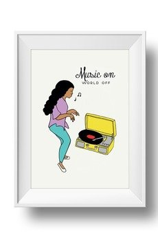 fantastisch! - PLAKAT MUSIC ON WORLD OFF