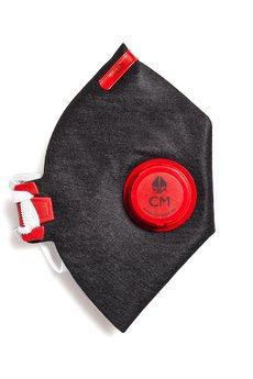 HisOutfit - Maska antysmogowa z węglem aktywnym MORO + 1 filtr