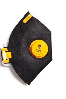HisOutfit - Maska antysmogowa z węglem aktywnym ETNO+ 1 filtr