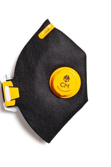 HisOutfit - Maska antysmogowa z węglem aktywnym ETNO + 1 filtr