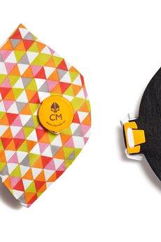 HisOutfit - Maska antysmogowa z węglem aktywnym PADRON + 1 filtr