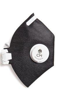 HisOutfit - Maska antysmogowa z węglem aktywnym LOVE  + 1 filtr