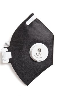HisOutfit - Maska antysmogowa z węglem aktywnym GAZETA