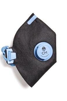 HisOutfit - Maska antysmogowa z węglem aktywnym CALPE + 1 filtr
