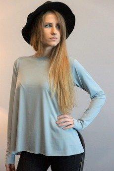 MIW Collection - Bluzka trapezowa z długim rękawem