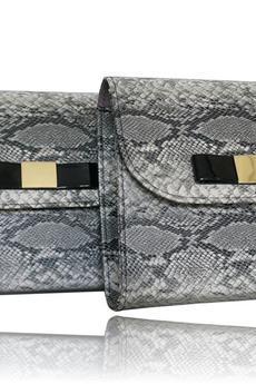 MANZANA - Manzana Koperta i Listonoszka z kokardką - klasyczna siwy wąż