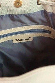 MANZANA - torebka WOREK BOHO wygodny styl - beżowa
