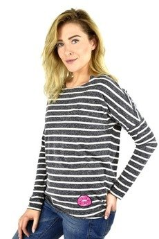 COLORSHAKE - LONGSLEEVE WHISTLER STRIPES ECRU
