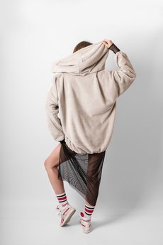 REST_FActory - OVERSIZE FLUFFY HOODIE