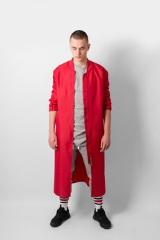 REST FACTORY - RED BOMBER COAT