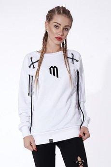 "Mar.ska - WHITE HOODIE ""M"""