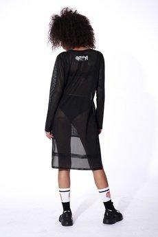 Mar.ska - DRESS MESH BLACK MOOD