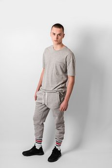 REST FACTORY - GREY JOGGER PANTS