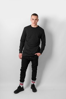REST FACTORY - BLACK JOGGER PANTS