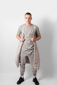 REST FACTORY - GREY BASIC T-SHIRT