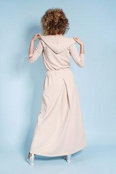 Madnezz - Sukienka Rachel Maxi - Nude