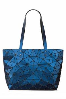 Papillon - Geometric niebieska torebka matowa