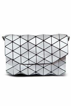 Papillon - Geometric kopertówka srebrna