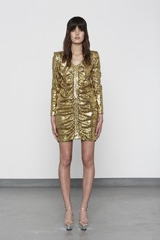 MISBHV - GOLDEN SEQUIN DRESS