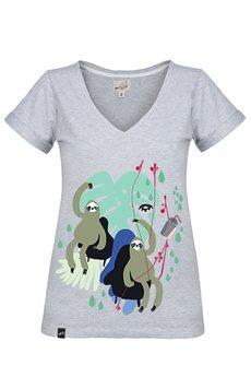 Meet The Llama - SAMBACA Attention Sloth - Tshirt
