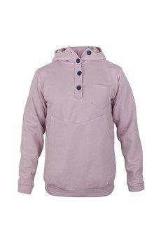 MADOX design - Różowa bluza z haftem na plecach