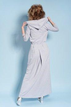 Madnezz - Sukienka Rachel Maxi - Szara