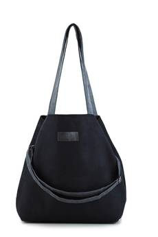 Militu - Duża torba typu shopper Mili Duo MD1 - black