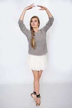 Moelle - Sukienka Sara szara
