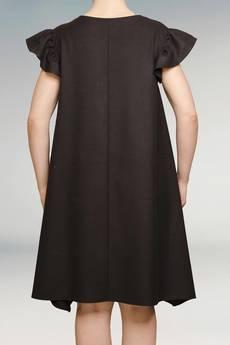 Non Tess - mała czarna sukienka z dłuższymi bokami