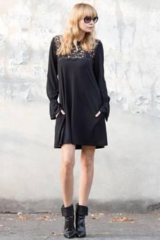 Candy Floss - sukienka z gipiurowym karczkiem