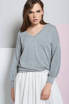 INTENSI - Sweter Tył na Przód
