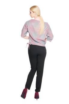 Soleil - Spodnie z szerokim pasem SL4001B