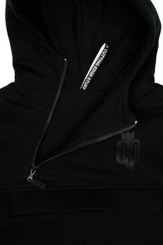 DON'T NEED NO SAMURAI - Double Killer Hoodie Black