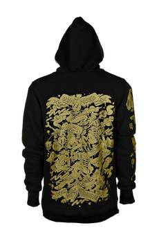 DON'T NEED NO SAMURAI - Double Killer Hoodie Gold