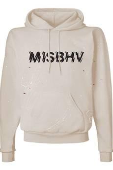MISBHV - LOGO SINEAD HOODIE OFF-WHITE