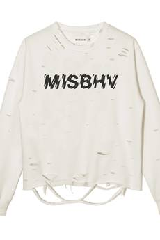 MISBHV - LOGO SINEAD SWEATSHIRT OFF-WHITE