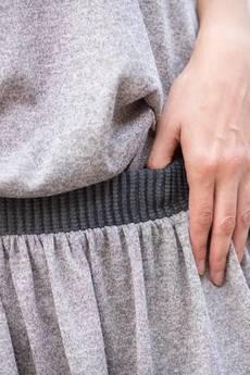 Candy Floss - spódniczka wykończona karbowaną gumą