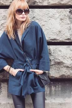 Candy Floss - płaszcz o kroju kimono