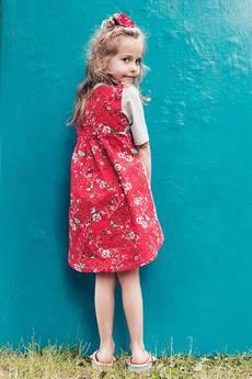 - Koszula czerwone motyle