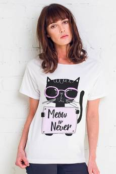 GAU great as You - MEOW OR NEVER t-shirt oversize