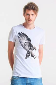 GAU great as You - EAGLE - t-shirt męski biały